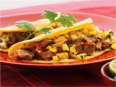 Spicy Chicken Pineapple Habenero Tacos