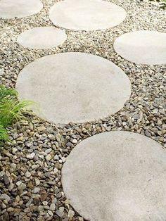 Ideen Gartengestaltung Günstig Einrichten Beton