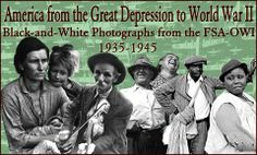 American from the Great Depression to World War II: Black-and-white photographs from the FSA-OWI 1935-1945