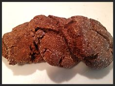 Chewy Ginger Molasses Cookies rolled in sugar!!!! via ChantelandBella ...