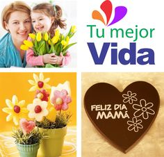 Celebramos en este gran día a todas las madres, quienes con su amor, cuidado y compromiso hacen de nuestro mundo un mejor lugar. ¡Feliz Día les desea #Tumejorvida.