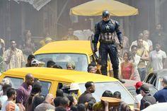 INF - Film Set - 'Captain America: Civil War'
