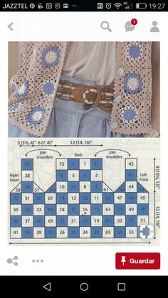 Captivating Crochet a Bodycon Dress Top Ideas. Dazzling Crochet a Bodycon Dress Top Ideas. Gilet Crochet, Crochet Coat, Crochet Cardigan Pattern, Granny Square Crochet Pattern, Crochet Jacket, Crochet Diagram, Crochet Blouse, Crochet Squares, Crochet Granny