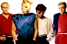 """A Flock Of Seagulls - remembered by most as """"one of those weird haircut bands of the 80s""""."""
