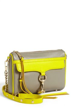 Rebecca Minkoff Colorblock Crossbody Clutch