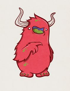 JACINTO!!! by AARON MARTINEZ - #fluffy #monster