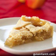 Mmmm, nos ha encantado esta receta del pastel de manzana o Appel Pie para dar de merienda a los niños.