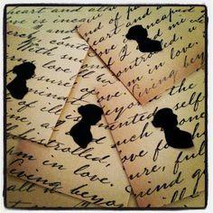 Jane Austen Silhouettes