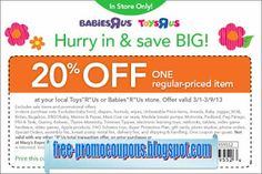 Free Printable Babies R Us Coupons Mcdonalds Coupons, Kfc Coupons, Home Depot Coupons, Pizza Coupons, Free Printable Coupons, Free Printables, Golden Corral Coupons, Wendys Coupons