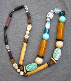 Natalia Rivo My Works, Handmade Jewelry, Beaded Necklace, Beads, Fashion, Beaded Collar, Beading, Moda, Handmade Jewellery
