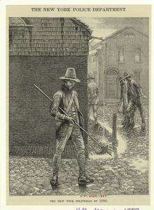 New York Police Man in 1693