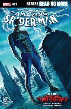 Amazing Spider-Man (2015-) #19 Written by: Christos N. Gage & Dan Slott Art by: Giuseppe Camuncoli & Javier Garron 02/03/2017