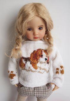 Knitting Dolls Clothes, Knitted Dolls, Girl Doll Clothes, Girl Dolls, Baby Dolls, Dolls Dolls, Barbie Clothes, Pretty Dolls, Cute Dolls