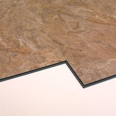 VersaClic 12-in x 24-in Sahara Slate Floating Vinyl Tile  	100% waterproof	Anti-slip textured surface	Installs almost anywhere	No glue required	Fiberglass