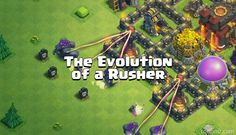 The Evolution of a Rusher - http://cocland.com/miscellaneous/the-evolution-of-a-rusher