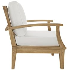Elaina Teak Patio Chair with Cushion $429 (Wayfair)