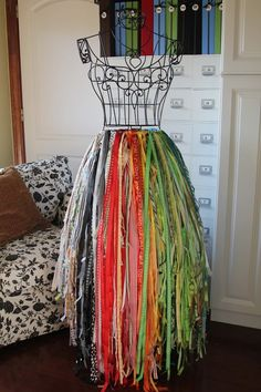 ribbon storage - how cool is this!