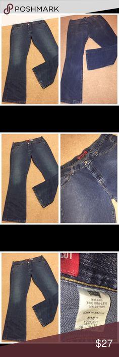Levi's Nouveau Bootcut cotton denim jeans, Sz 16M 081317-30 drnerds  Levi's Nouveau Bootcut cotton denim jeans, Sz 16M  Levi's Nouveau Bootcut 515 100% cotton slightly low waist denim jeans, Sz 16M Waist - 38 Inseam -31 Levi's Jeans Boot Cut
