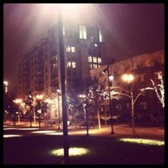 Foggy Night for a Drive :: Jameson Park