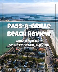 Pass-a-Grille Beach in St. Road Trip Florida, Florida Beaches, Florida Travel, Beach Trip, Vacation Trips, Beach Vacations, Pass A Grille Beach, St Petes Beach Florida, St Pete Beach