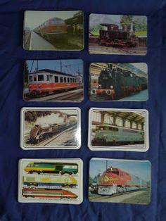 Livros&BD4sale: 4 Sale - 126 Calendários do Tema comboios