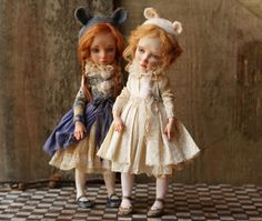 Art dolls by Helena Oplakanska ❤ #art #doll #dolls #collectibles