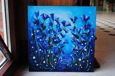 Купить Колокольчики в интернет магазине на Ярмарке Мастеров Blue Art, Blue Artwork