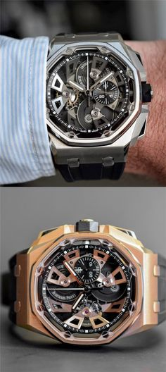 Audemars Piguet Royal Oak Offshore Tourbillon Chronograph 25th Anniversary On Hand
