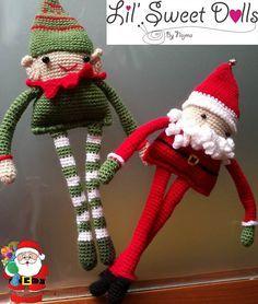 navidad christmas amigurumi crochet ganchillo doll  najma04