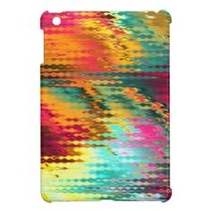 Liquid Rainbow iPad Mini Cover