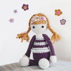 Little red-head crochet doll I made <3