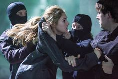 It's not all sunshine and rainbows for Tris in her new faction. (Divergent)