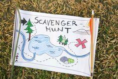 ¡Busquen un tesoro, con todo y mapa! Fotogalería de  actividades en vacaciones- Todobebé