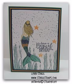 Magical Mermaid stamp set, CCMC465 - Color Inspiration