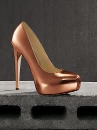 Rose gold pumps ❤
