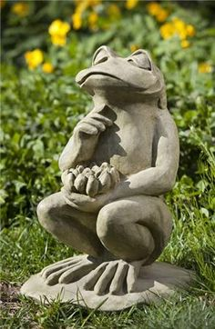 http://www.thegardengates.com/Lotus-Frog-Garden-Statue-by-Campagnia-p22726.aspx