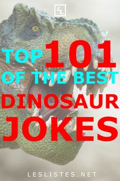 Dinosaurs were amazing creatures that used to rule and roam the earth. However we don't need to forget about them. Check out the top 101 dinosaur jokes. Already noted my favorites ? Summer Jokes For Kids, Thanksgiving Jokes For Kids, Dinosaur Funny, The Good Dinosaur, Funny Jokes, It's Funny, Best Blogs, Brain Teasers, Science Projects