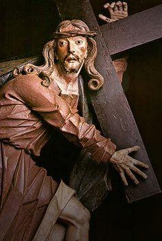 Cristo carregando a cruz - Aleijadinho