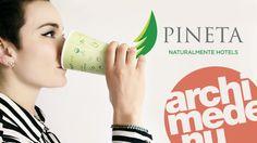 Dalla Val di Non con <3 Niente web questa volta ma carta e gadgets per il +Pineta Hotels #archimede...@Pinetahotels