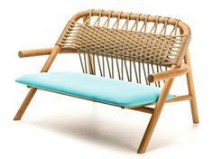 UNAM Divanetto by Very Wood design Sebastian Herkner