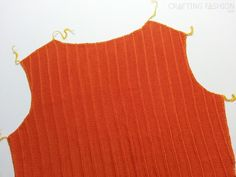 Cut and sew a pattern with your serger