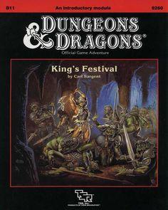B11 King's Festival (Basic) - Wizards of the Coast | D&D Basic | Adventure Modules | D&D Basic | RPGNow.com