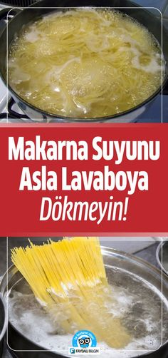 Makarna Suyu nu Asla Lavaboya Dökmeyin Nedeni Bakın Neymiş ! Good To Know, Diy And Crafts, Dairy, Food And Drink, Cheese, Cooking, Health, Salud, Health Care