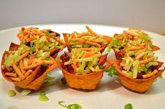 Applebee's Chicken Wonton Tacos - Applebee's Appetizer Recipe