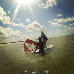 Aula de windsurf no Doctor Wind! | por blogumcafeeumamor