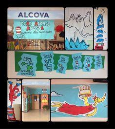 dr.+seuss+classroom+decorations | Dr. Seuss' Read Across America decorations!