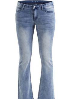 Vila Bootcut jeans light blue (De Munt)