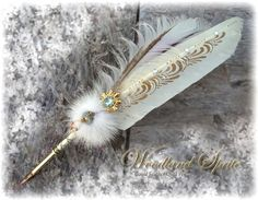 quill pen..love mine but not as easy as a pretty filled calligraphy pen