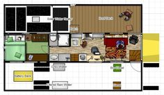 Conversion Encyclopedia - Floor Plans - Page 3 - School Bus Conversion Resources School Bus Camper, School Bus House, Rv Bus, Truck Camper, Diesel, Converted Bus, Bus Living, Tiny Living, School Bus Conversion