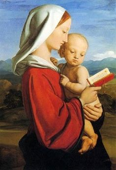 William Dyce (Scottish artist, 1806-1864) The Virgin and Child